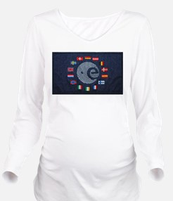 European Space Agency Long Sleeve Maternity T-Shir