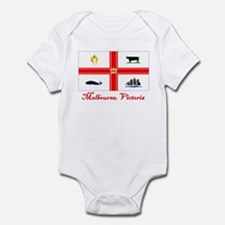 Melbourne, Vi Flag Infant Bodysuit