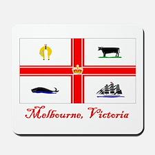 Melbourne, Vi Flag Mousepad