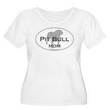 Unique Pit bull mom T-Shirt
