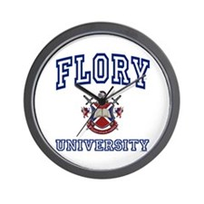 FLORY University Wall Clock