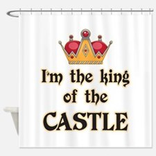 King of the Castle Shower Curtain
