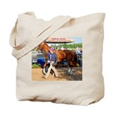 Horse ass Canvas Totes