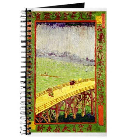 Van Gogh's Bridge in the Rain Journal