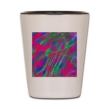 Spray Paint Shot Glass