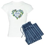 Mothers Love Heart.png Women's Light Pajamas