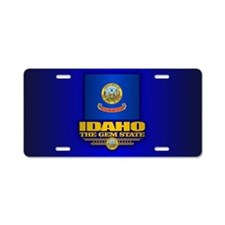 Idaho (v15) Aluminum License Plate
