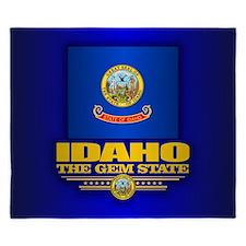 Idaho Flag King Duvet