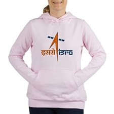 ISRO - India in Space Women's Hooded Sweatshirt