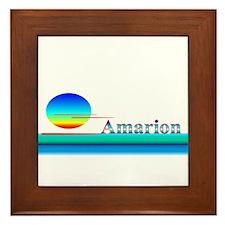 Amarion Framed Tile