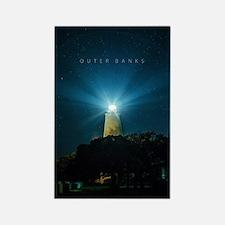 Ocracoke Lighthouse. Rectangle Magnet
