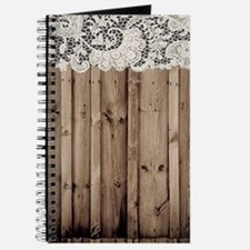 barnwood white lace country Journal