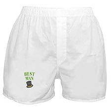 Best Man (hat) Boxer Shorts