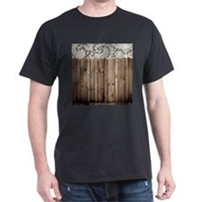 barnwood white lace country T-Shirt