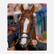 CALIFORNIA CHROME Throw Blanket