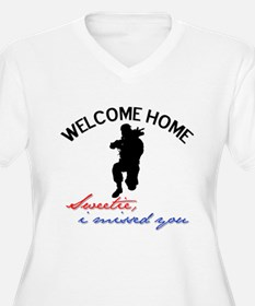 Welcome Home Sweetie I Missed T-Shirt