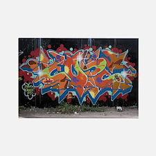 Cute Graffiti Rectangle Magnet