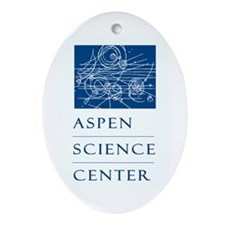 Aspen Science Center Oval Ornament
