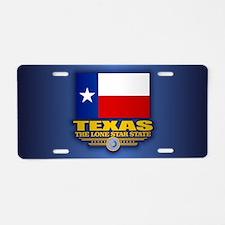 Texas (v15) Aluminum License Plate