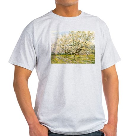 Van Gogh The White Orchard Light T-Shirt