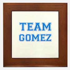 TEAM GOMEZ Framed Tile