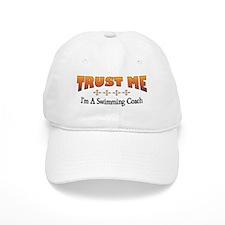 Trust Swimming Coach Baseball Cap