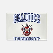 BRADDOCK University Rectangle Magnet