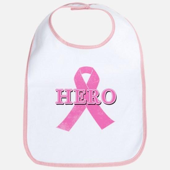 HERO with Pink Ribbon Bib