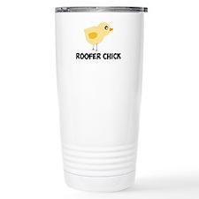 Roofer Chick Travel Mug