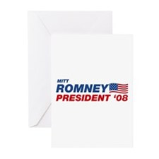 Mitt Romney for President Greeting Cards (Package