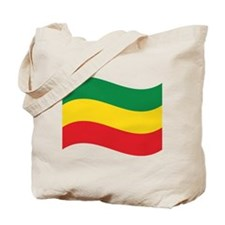 Green, Gold and Red Flag Tote Bag