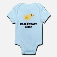 Real Estate Chick Body Suit