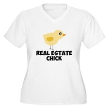 Real Estate Chick Plus Size T-Shirt