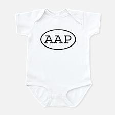 AAP Oval Infant Bodysuit