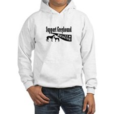 Support Greyhound Rescue Hoodie