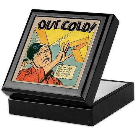Classic Comic Advertisement Keepsake Box
