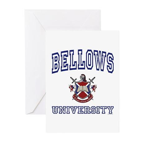 BELLOWS University Greeting Cards (Pk of 10)