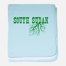 South Sudan Roots baby blanket