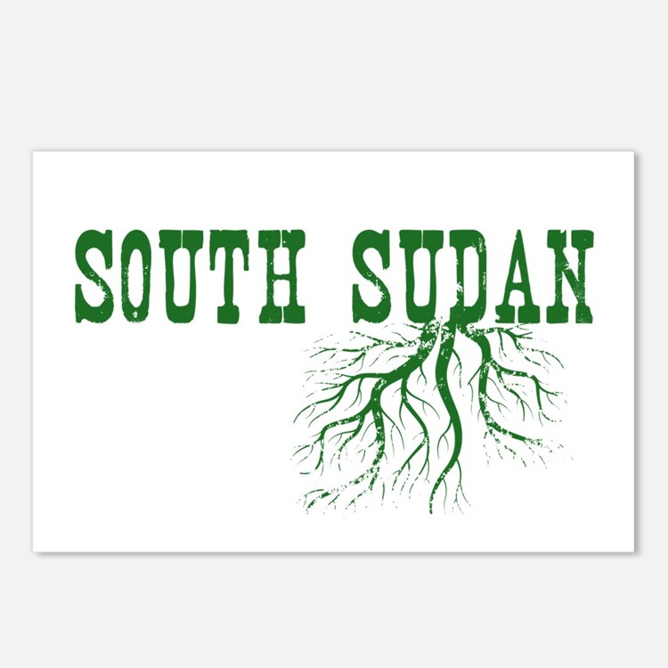 South Sudan Roots Postcards (Package of 8)