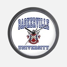 BASKERVILLE University Wall Clock