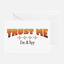 Trust Spy Greeting Cards (Pk of 10)