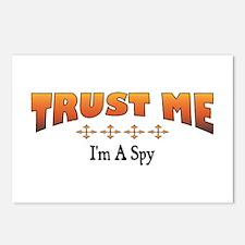 Trust Spy Postcards (Package of 8)