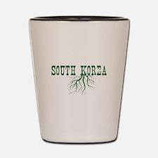 South Korea Roots Shot Glass