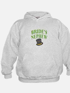 Bride's Nephew (hat) Hoodie
