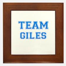 TEAM GILES Framed Tile