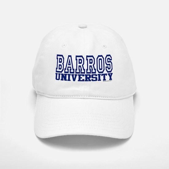 BARROS University Baseball Baseball Cap