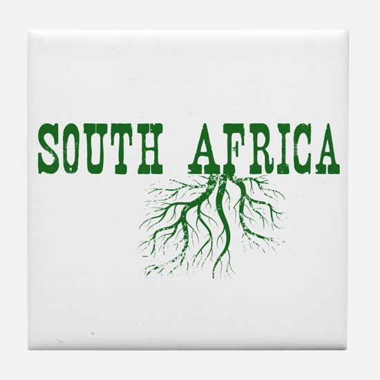 South Africa Roots Tile Coaster