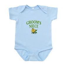Groom's Niece (rose) Infant Bodysuit
