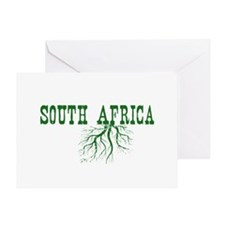 South Africa Roots Greeting Card