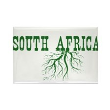 South Africa Roots Rectangle Magnet (10 pack)